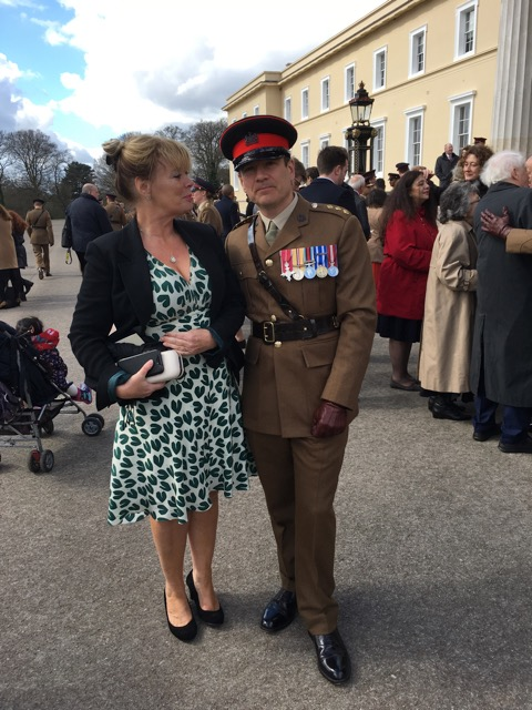 Bob's Commissioning at Sandhurst in early 2017